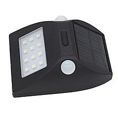 olcso Kültéri lámpa és gyertyatartók-3 W LED projektorok Infravörös érzékelő Könnyű beszerelni Vízálló Kültéri világítás Természetes fehér Több színű