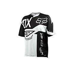 Недорогие Мотоциклетные куртки-Лиса мотоцикл одежда с коротким рукавом солнцезащитный крем дышащая влага пот быстросохнущая одежда футболка лето