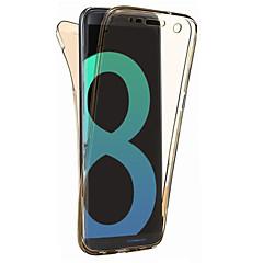 Etui Käyttötarkoitus Samsung Galaxy S8 Plus S8 Ultraohut Läpinäkyvä Kokonaan peittävä Yhtenäinen väri Pehmeä TPU varten S8 S8 Plus S7