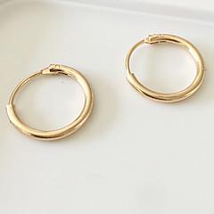 preiswerte Ohrringe-Damen Kreolen Ohrring - Simple Style, Modisch Silber / Golden Für Alltag Normal Sport