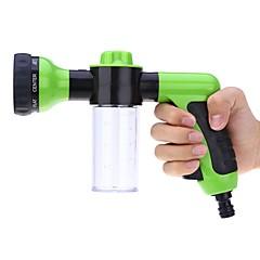 abordables Herramientas de Limpieza-Auto agua pulverizador coche alta presión boquilla pistola con espuma agua jardín lavado