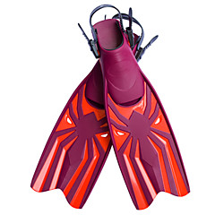 Χαμηλού Κόστους -Πτερύγια κατάδυσης Μεγάλα πτερύγια Καταδύσεις & Κολύμπι με Αναπνευστήρα Ανάμεικτα Υλικά Eco PC