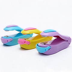 olcso -1 db mini ételes műanyag zacskó kisméretű tömítő klip ramdon szín