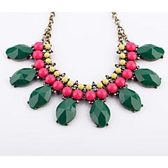abordables Collares-Mujer Forma Geométrica Diseño Único Euramerican Strands Collares Strands Collares , Regalos de Navidad Casual