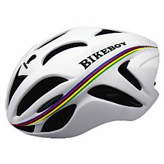 Sportowy Męskie Dla obu płci Rower Kask 18 Otwory wentylacyjne Kolarstwo Kolarstwo Kolarstwo górskie M: 55-58CM L: 58-61cm PC EPSŻółty