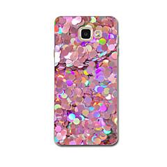 olcso Galaxy A3 tokok-Case Kompatibilitás Samsung Galaxy A7(2017) A5(2017) Ultra-vékeny Minta Fekete tok Csempe Puha TPU mert A5 (2017) A7 (2017) A8 A5 A3