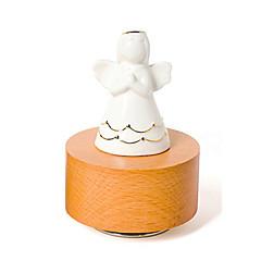 olcso -Zenedoboz Játékok Henger alakú Kerámia Fa Darabok Uniszex Ajándék