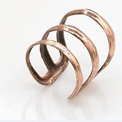 preiswerte Ohrringe-Herrn Damen Ohr-Stulpen Ohrring - Simple Style, Modisch Silber / Rose / Golden Für Hochzeit Party Alltag