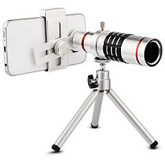 お買い得  -高品質18倍ズーム光学望遠鏡望遠レンズキット携帯電話のカメラレンズ三脚iphone 6 7 samsung s7 xiaomi mi6