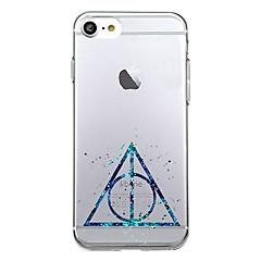 Για iPhone X iPhone 8 Θήκες Καλύμματα Εξαιρετικά λεπτή Με σχέδια Πίσω Κάλυμμα tok Γεωμετρικά σχήματα Μαλακή TPU για Apple iPhone X iPhone