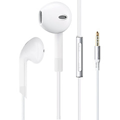cheap Headsets & Headphones-BIAZE E5 Mobile Earphone for Computer In-Ear Wired Plastic 3.5mm With Microphone Volume Control Noise-Cancelling