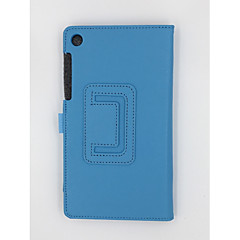 tanie Pokrowce na laptopa-Oryginalna skórzana torba lichi 7 cali na kartę lenovo 730f / tab3 730m z pokrowcem na statyw