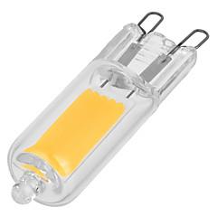 G9 LED betűzős izzók T 1 led COB Meleg fehér Hideg fehér 110-200lm 3000/6000K AC 230V