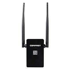 abordables Antenas WiFi-Comfast inalámbrico ap router wifi repetidor 300mbps wi-fi roteador amplificador de señal de refuerzo
