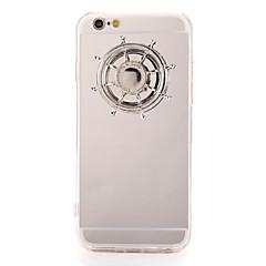 Til Etuier Håndspinnere Mønster GDS Bagcover Etui 3D-tegneseriefigur Hårdt Akryl for AppleiPhone 7 Plus iPhone 7 iPhone 6s Plus iPhone 6