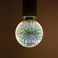 1pc g95 ledde fyrverkerier dekorativa 3d e27 polyhedron vintage edison lampa hem bar inredning belysning lampada ac85-265v