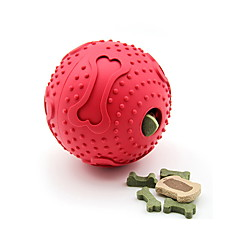 Dog Cat Toy Dog Toy Pet Toys Ball Food Dispenser Bone Rubber For Pets