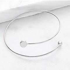 preiswerte Armbänder-Damen Geometrisch Manschetten-Armbänder - Modisch Armbänder Silber Für Party / Besondere Anlässe