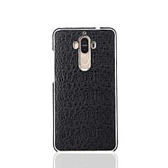 Для Чехлы панели Покрытие Задняя крышка Кейс для Один цвет Твердый Натуральная кожа для Huawei Huawei Mate 9 Huawei Mate 9 Pro