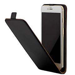 Недорогие Кейсы для iPhone 4s / 4-Кейс для Назначение Apple iPhone 7 / iPhone 7 Plus Защита от удара / Флип Чехол Однотонный Твердый Кожа PU для iPhone 7 Plus / iPhone 7 / iPhone 6s Plus