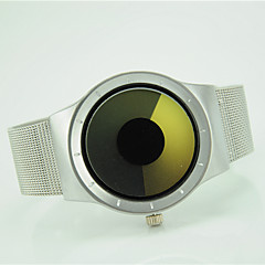 お買い得  レディース腕時計-女性用 クォーツ リストウォッチ カジュアルウォッチ 合金 バンド ファッション クール シルバー