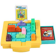 Brettspiel Bildungsspielsachen Spielzeugautos Spielzeuge Quadratisch Auto Stücke Unisex Geschenk