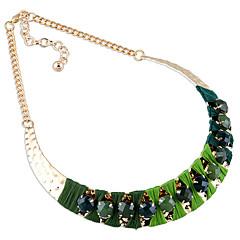 お買い得  ネックレス-女性用 ストランドネックレス  -  オリジナル, かわいいスタイル, 欧米の レッド, ライトブルー, ライトグリーン ネックレス 用途 結婚式, パーティー, おめでとう