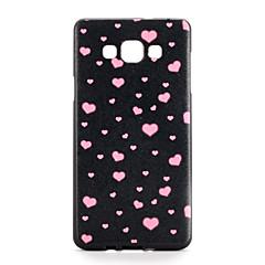 halpa Galaxy A7 kotelot / kuoret-Samsung Galaxy A7 A5 suojus kuvio takakansi tapauksessa sydän pehmeä TPU