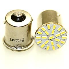 preiswerte Autozubehör-SENCART BA15S (1156) / BA15D (1142) / BAY15D(1160) Motorrad / Auto Leuchtbirnen 1-2 W SMD 3014 120-180 lm Rücklicht Für