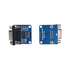 お買い得  Arduino 用アクセサリー-max232cse転送チップrs232をttlコンバータモジュールcomシリアルボード(2pcs)