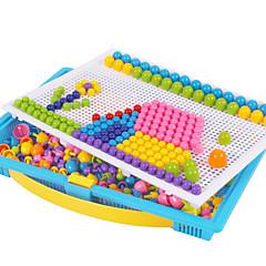 الصناعات اليدوية الألغاز لعبة ألعاب تربوية مجموعات الفسيفساء ألعاب دائري فطر غني بالألوان للأولاد 296 قطع