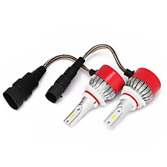 Недорогие Автомобильные фары-9005 Автомобиль Лампы Интегрированный LED 3600lm Светодиодная лампа Налобный фонарь