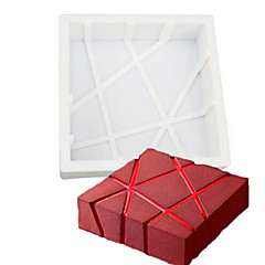 お買い得  ベイキング用品&ガジェット-ベーキングモールド チョコレート ケーキ シリコーン エコ DIY 誕生日 3D ホリデー 焦げ付き防止