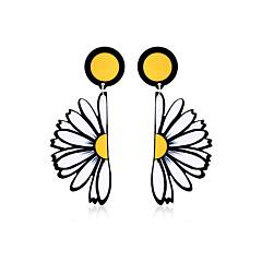 preiswerte Ohrringe-Damen Tropfen-Ohrringe - Erklärung, Böhmische, Grundlegend Gelb Für Geburtstag / Party / Abschluss