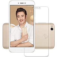 Недорогие Защитные плёнки для экранов Xiaomi-Защитная плёнка для экрана XIAOMI для Xiaomi Redmi 4X Закаленное стекло 1 ед. Защитная пленка для экрана Взрывозащищенный Уровень защиты