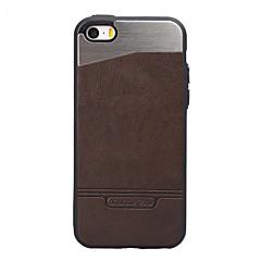 Назначение iPhone 8 iPhone 8 Plus Чехлы панели Защита от удара Покрытие Задняя крышка Кейс для Сплошной цвет Твердый Металл для Apple