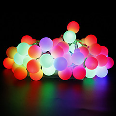 W חוטי תאורה lm AC220 AC 110-130 10 מ ' 100 נוריות לבן חמים לבן אדום צהוב כחול ורוד צבעוני