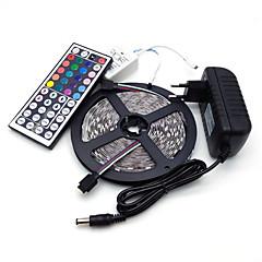 preiswerte LED Lichtstreifen-5m Lichtsets 300 LEDs 5050 SMD RGB 100-240 V / IP44
