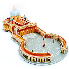 قطع تركيب3D تركيب مجموعات البناء ألعاب بناء مشهور معمارية اصنع بنفسك الأطفال للجنسين الفتيان قطع