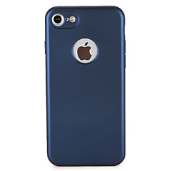 Недорогие Кейсы для iPhone 7 Plus-Кейс для Назначение Apple iPhone 7 Plus iPhone 7 Защита от пыли Чехол Сплошной цвет Мягкий ТПУ для iPhone 7 Plus iPhone 7 iPhone 6s Plus