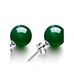 abordables Bijoux pour Femme-Femme Emeraude synthétique Boucles d'oreille goujon - Émeraude Rétro, Mode Vert Pour Mariage Soirée Anniversaire