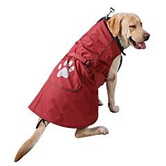 abordables Accesorios y Ropa para Perros-Perro Abrigos Sudadera Ropa para Perro Un Color Rojo Azul Nailon Pana Disfraz Para mascotas Hombre Mujer Casual/Diario Moda Deportes