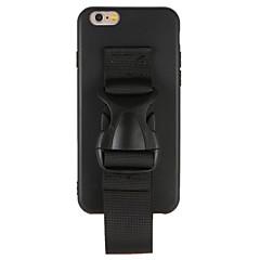 Недорогие Кейсы для iPhone 7 Plus-Кейс для Назначение Apple iPhone 7 Plus iPhone 7 Защита от пыли Кейс на заднюю панель Сплошной цвет Твердый ПК для iPhone 7 Plus iPhone 7