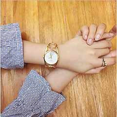 cheap Bracelet Watches-Women's Quartz Wrist Watch Bracelet Watch Chinese Casual Watch Stainless Steel Band Vintage Creative Casual Unique Creative Watch Elegant