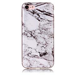 Недорогие Кейсы для iPhone 4s / 4-Кейс для Назначение Apple iPhone 7 Plus iPhone 7 IMD Кейс на заднюю панель Мрамор Мягкий ТПУ для iPhone 7 Plus iPhone 7 iPhone 6s Plus