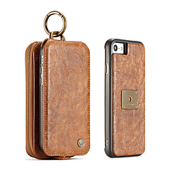 Voor iphone 7 plus 7 6s plus 6 plus 6 6s caseme retro split leather multi-slot tas tas leren tas