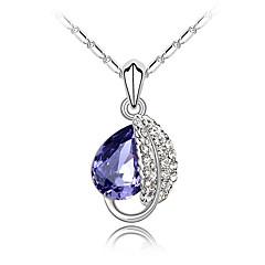 Жен. Ожерелья с подвесками Бижутерия Бижутерия Хрусталь Сплав Мода Euramerican Бижутерия Для Свадьба Для вечеринок 1шт