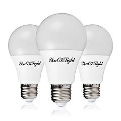 お買い得  LED 電球-3本 12W 1000lm LEDボール型電球 26 LEDビーズ SMD 5730 温白色 クールホワイト 85-265V