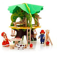 voordelige -3D-puzzels Modelbouwsets Speeltjes Huis Puinen Kinderen Stuks