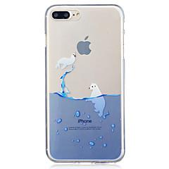 Для яблока iphone 7 7 плюс 6s 6 плюс se 5s 5 печать шаблон окрашены высокий уровень проникновения tpu материал imd процесс мягкий чехол
